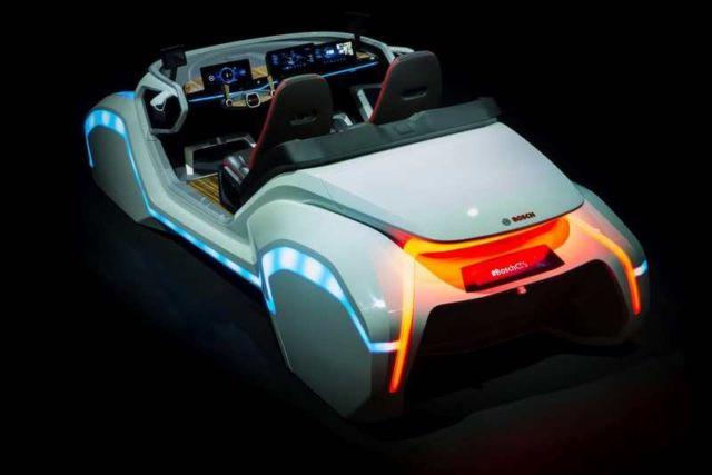 Bosch driver's seat of the future