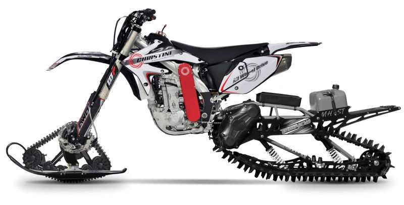 Christini II-Track AWD snow utility bike
