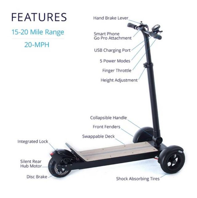Cycleboard Electric Scooter (3)