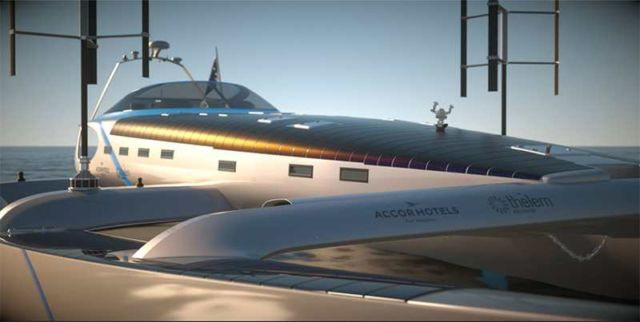 Energy Observer - first Hydrogen Boat around the World