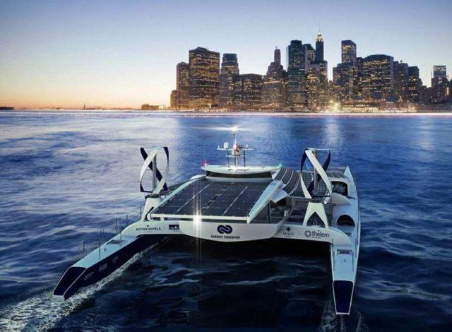 Energy Observer, first Hydrogen Boat around the World (4)