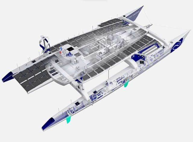 Energy Observer, first Hydrogen Boat around the World (3)