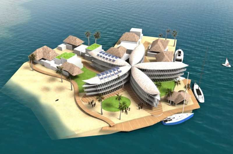 First Floating City to rise off French Polynesian