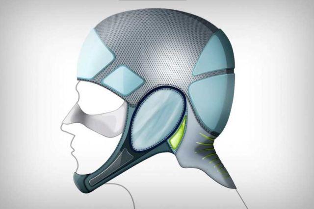 Flexible Surfing Helmet