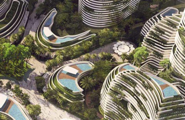 Forest City - futuristic new city in Malaysia (4)