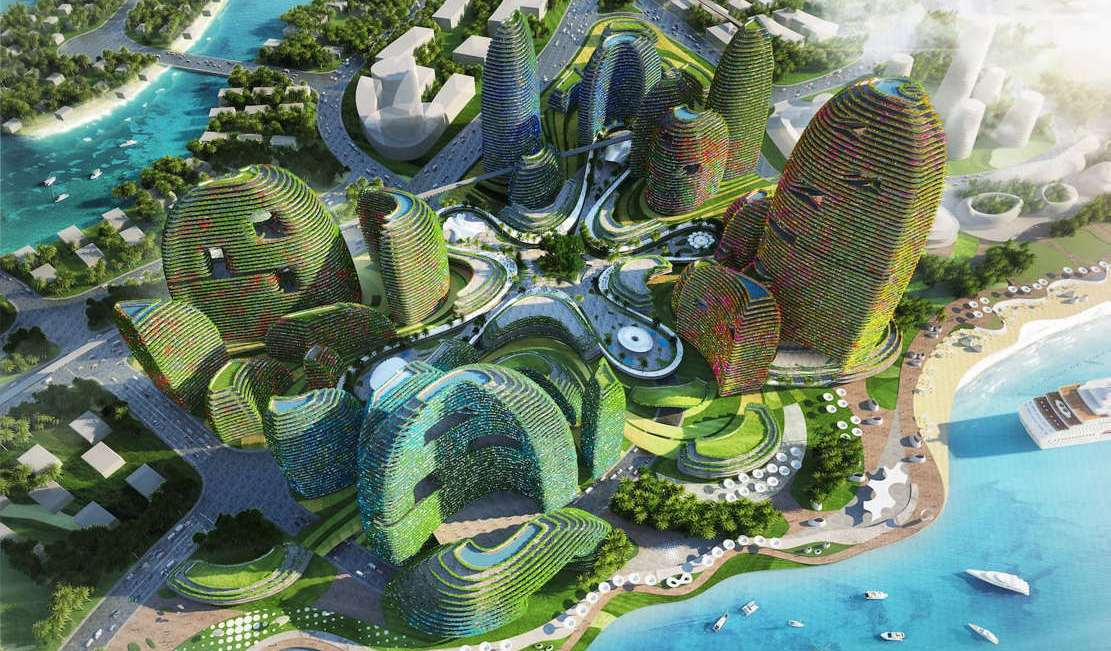 Forest City - futuristic new city in Malaysia (1)