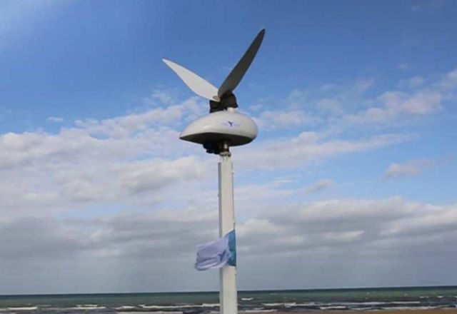 Tyer Wind biomimic wind converter