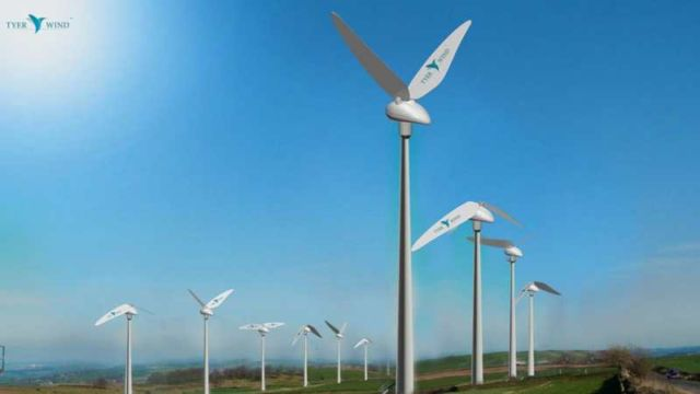 Tyer Wind biomimic wind converter (3)