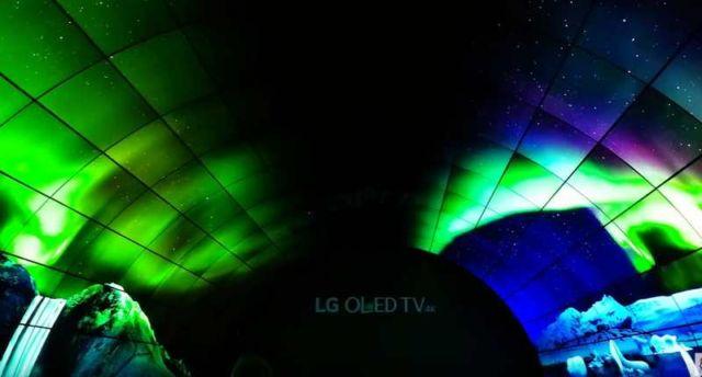LG's OLED Tunnel
