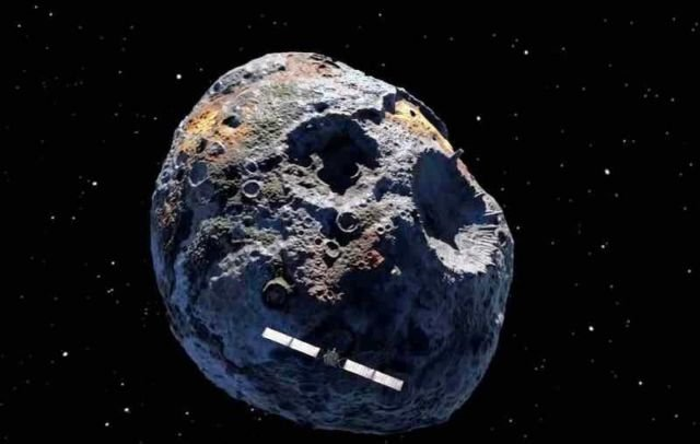NASA's new mission to a bizarre Metal Asteroid
