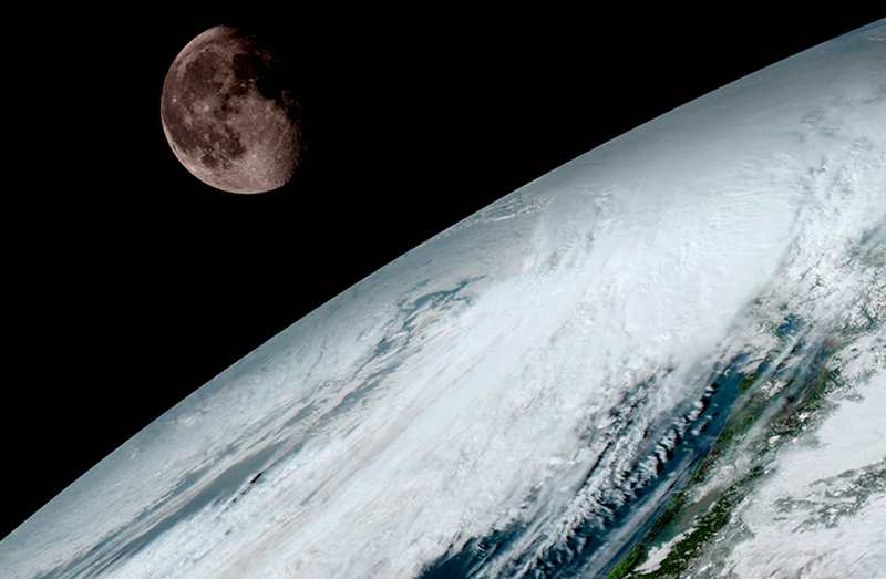 GOES-16 Weather Forecasting Satellite spectacular 1st Images