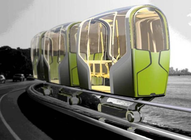Slim Ride Transportation concept