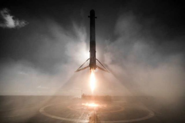 SpaceX unveils stunning images with its return