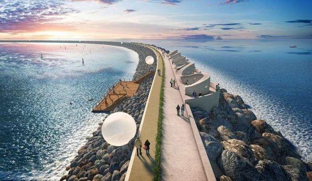 Tidal lagoon energy in the UK