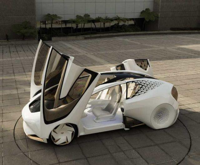Toyota Concept-i futuristic car (5)