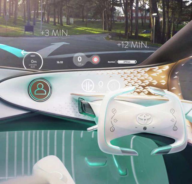 Toyota Concept-i futuristic car (3)