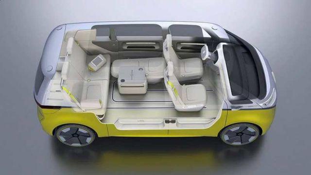 Volkswagen self-driving Microbus concept (7)