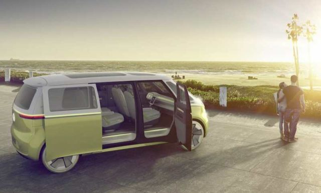 Volkswagen self-driving Microbus concept (6)