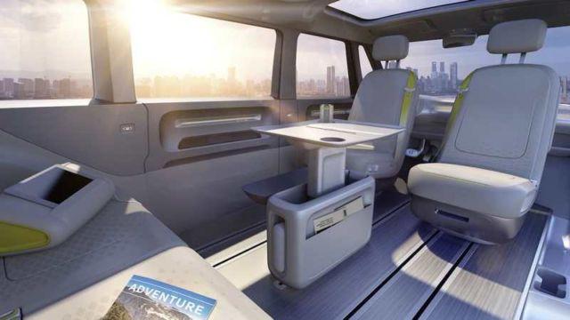 Volkswagen self-driving Microbus concept (5)