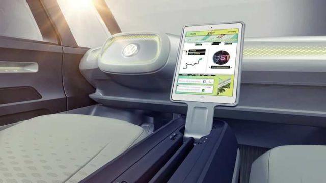 Volkswagen self-driving Microbus concept (4)