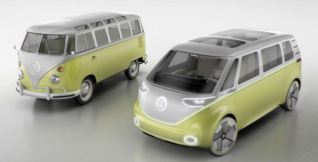 Volkswagen self-driving Microbus concept (1)