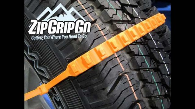 ZipGripGo Emergency Traction Aid for Snow