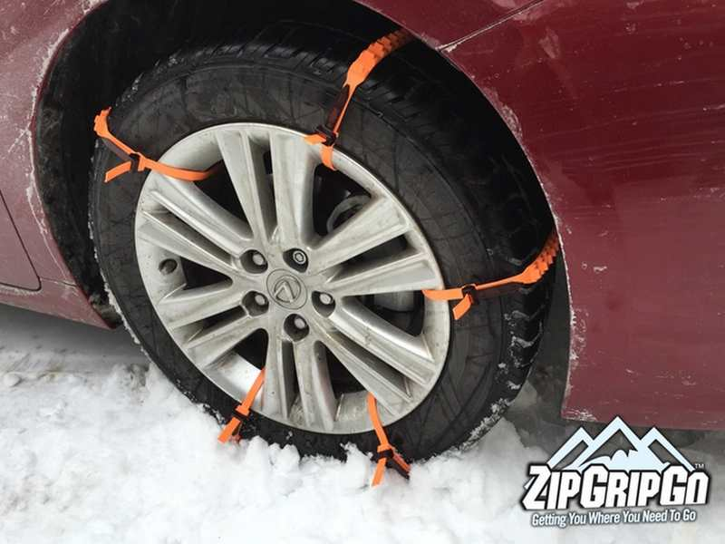 zipgripgo emergency traction aid for snow wordlesstech. Black Bedroom Furniture Sets. Home Design Ideas