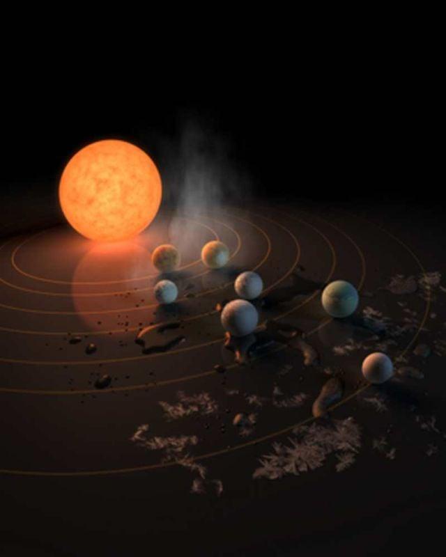 The TRAPPIST-1 star, an ultra-cool dwarf