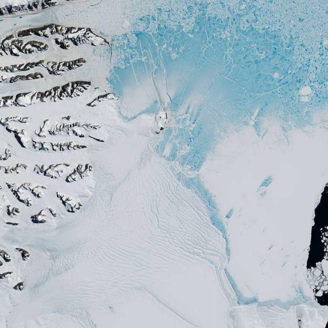 Antarctica's Changing Larsen Ice Shelf