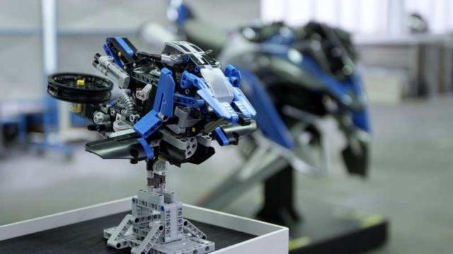 BMW X LEGO Hover Bike concept