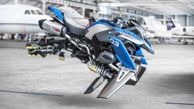 BMW X LEGO Hover Bike concept (5)