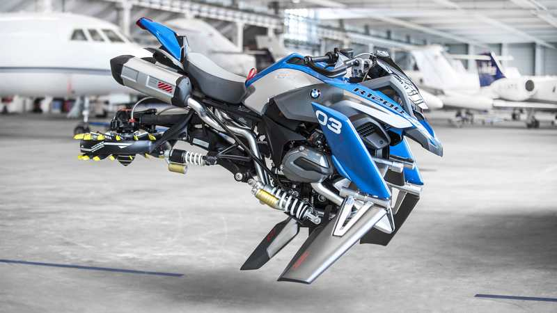 BMW X LEGO Hover Bike concept (5)