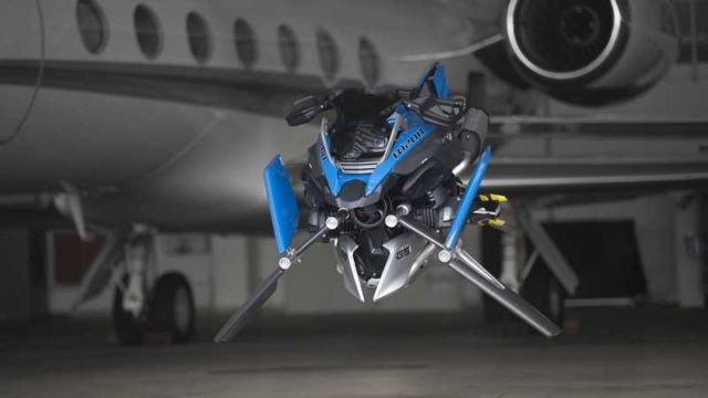 BMW X LEGO Hover Bike concept (2)
