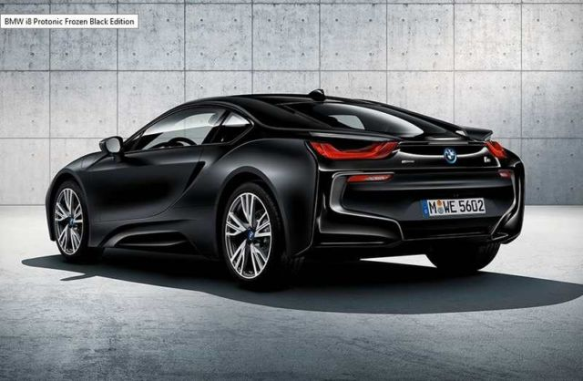 BMW i8 Protonic Frozen Black Edition (2)