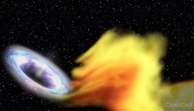 Black Hole Meal Sets Record for Duration and Size