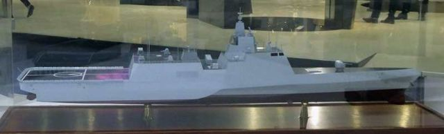 China's new Trimaran Frigate