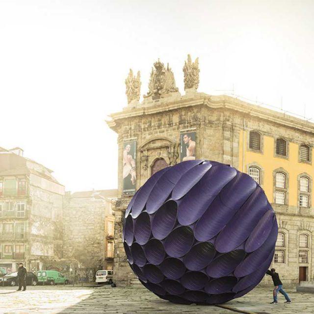 Eclipse - Installation in Porto's Historic Center