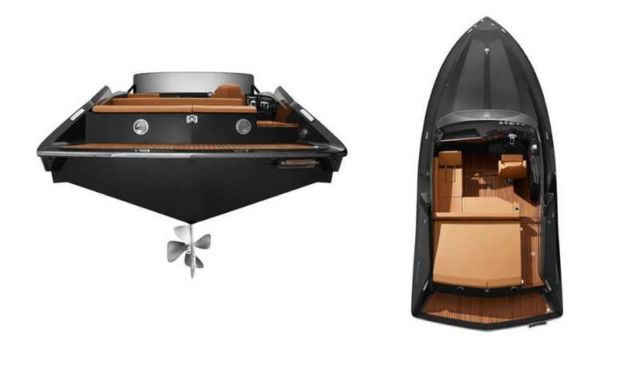 Frauscher 740 Mirage Electric Boat