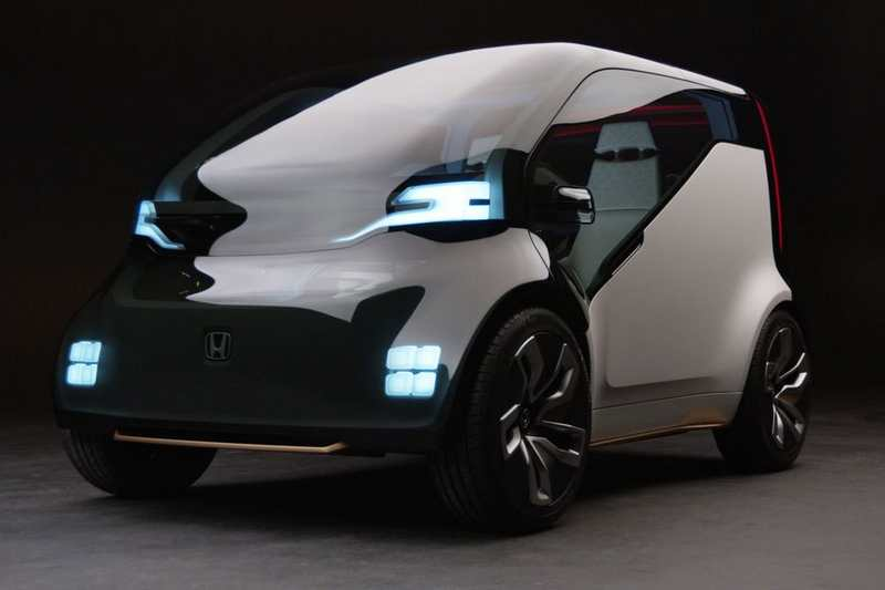 Honda electric Ride-Sharing concept ca