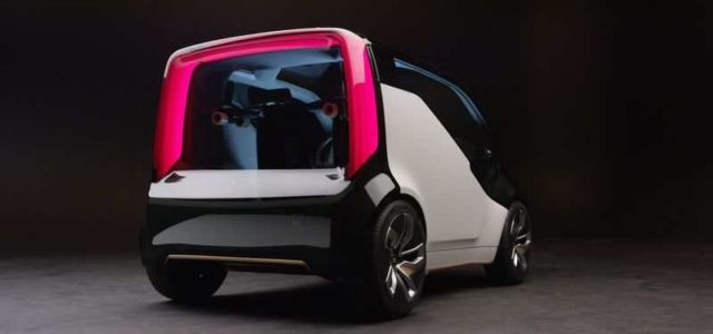 Honda NeuV an electric ride-sharing concept