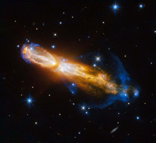 "Star Death in ""Rotten Egg"" nebula"