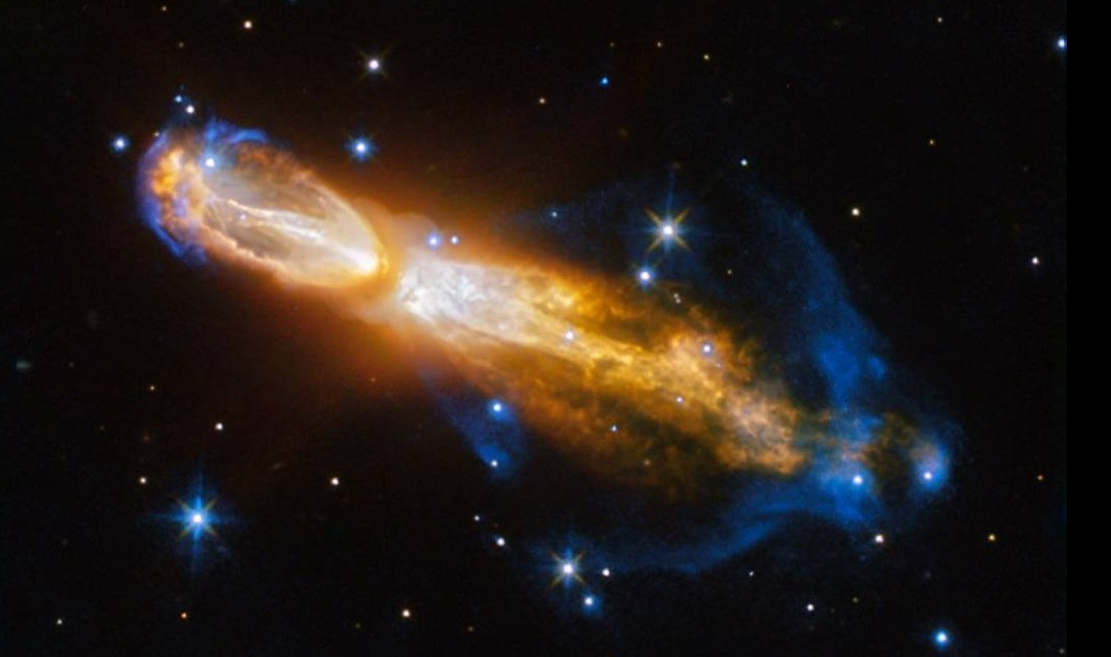 "Star Death in ""Rotten Egg"" nebula"