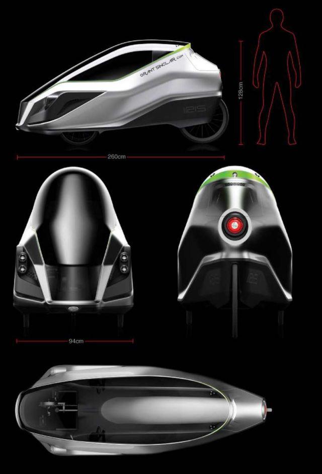 IRIS eTrike electric tricycle (1)