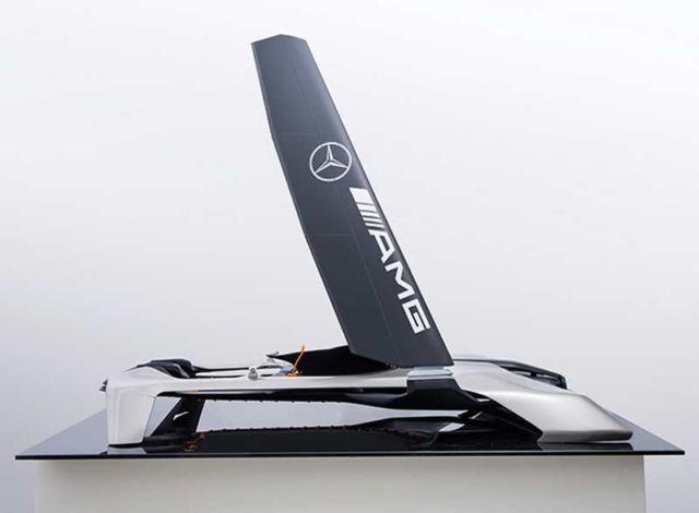 Mercedes-Benz WIND power Hydrocraft