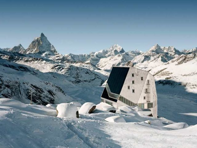 Monte Rosa Hut in Zermatt
