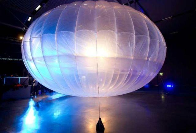 Google Project Loon's balloon
