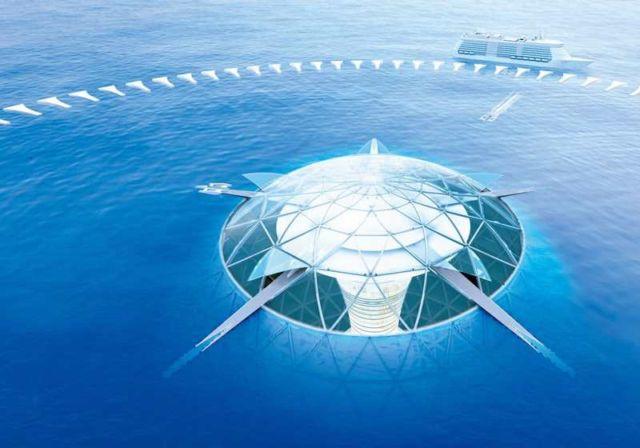 Shimizu Ocean Spiral Underwater City (4)