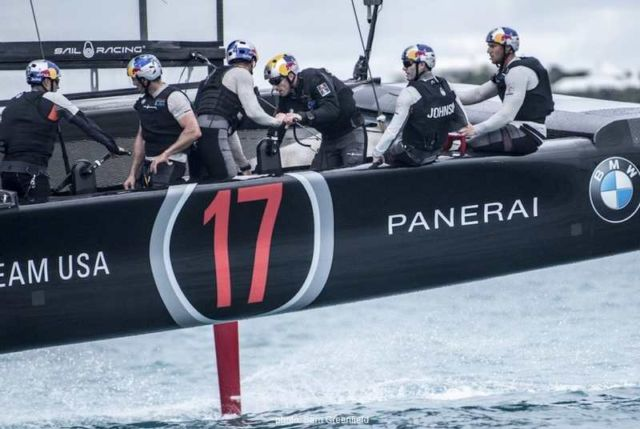 Oracle Team's new America's Cup Class boat (5)