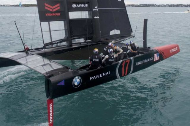 Oracle Team's new America's Cup Class boat (4)