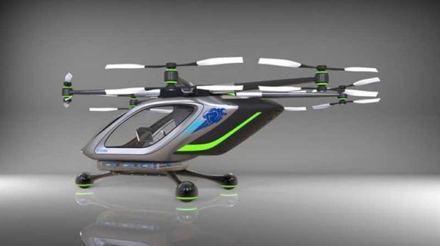 Jetpack Aviation electric multirotor VTOL concept